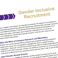 Gender-Inclusive tips photo