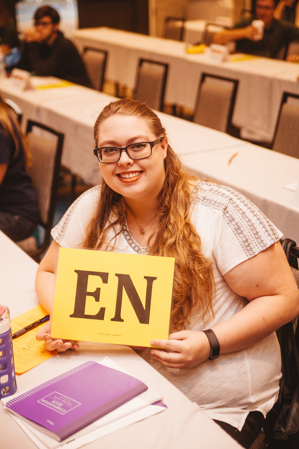 Epsilon Nu Delegate in Grand Chapter
