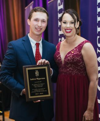 2018 Recipient: Andrew Wipperman (Tau Chapter '18)