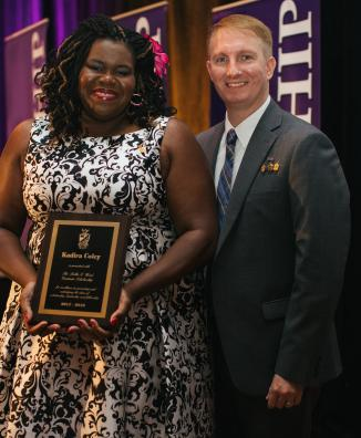 2018 Recipient: Kadira Coley (Gamma Pi Chapter '99)