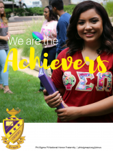 Recruitment Poster - Achievers